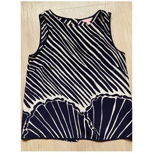 Lilly Pulitzer Shimmy Shell Sleeveless Top